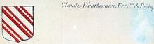 VOLUMES RELIES du Cabinet des titres : recherches de noblesse, armoriaux, preuves, histoires généalogiques. Armorial général de France, dressé, en vertu de l'édit de 1696, parCharles D'HOZIER. (1697-1709). XIX Normandie, Alençon. page 196